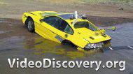 Невидимая грязь. Перепрыгнуть на машине озеро.