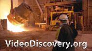 Отливка якорей для нефтедобывающей плотформы
