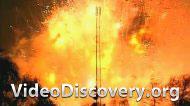 Взрыв на фабрике по прозводству фейерверков