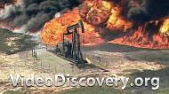 Пожар на складе химического завода