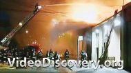 Пожар на заправке в Буэнос Ариесе