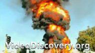 Пожар на бензозаправке